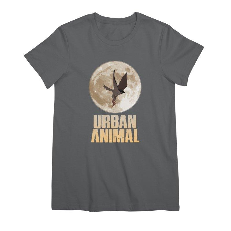 Moon Women's T-Shirt by Urban Animal Store