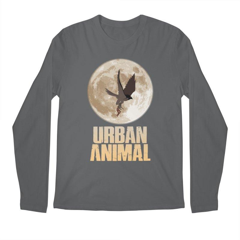 Moon Men's Longsleeve T-Shirt by Urban Animal Store