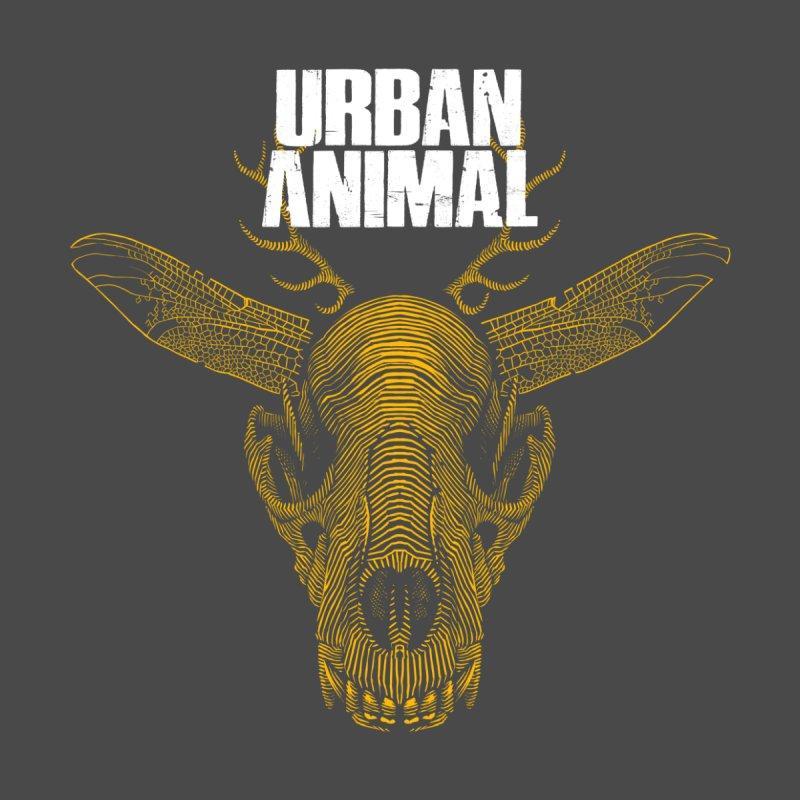 Urban Animal [mustard] Men's T-Shirt by Urban Animal Store