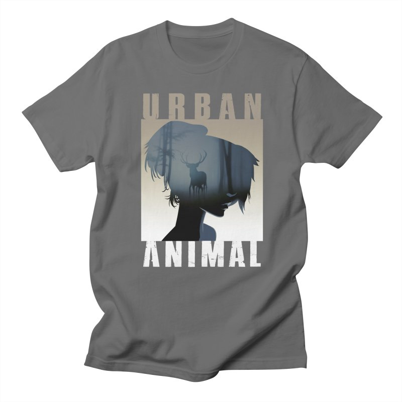 Stag Men's T-Shirt by Urban Animal Store