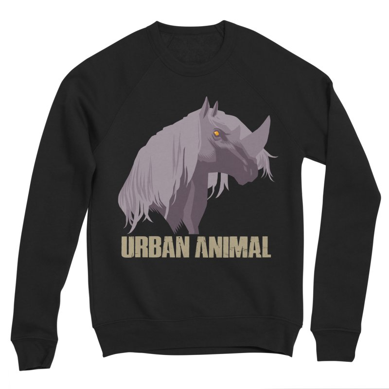 Rhinocorn Men's Sweatshirt by Urban Animal Store