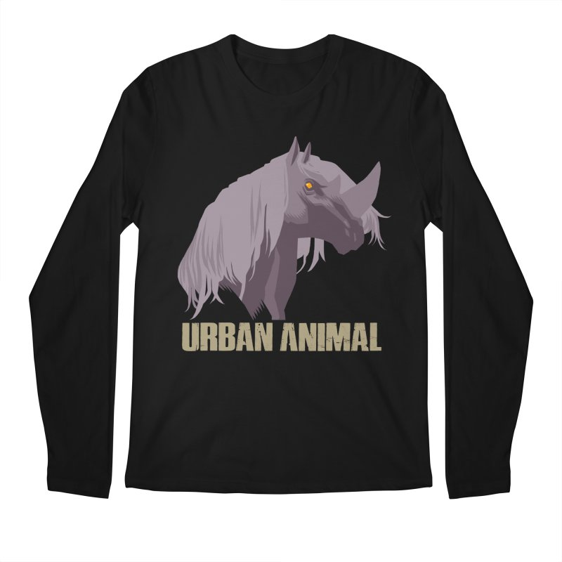 Rhinocorn Men's Longsleeve T-Shirt by Urban Animal Store