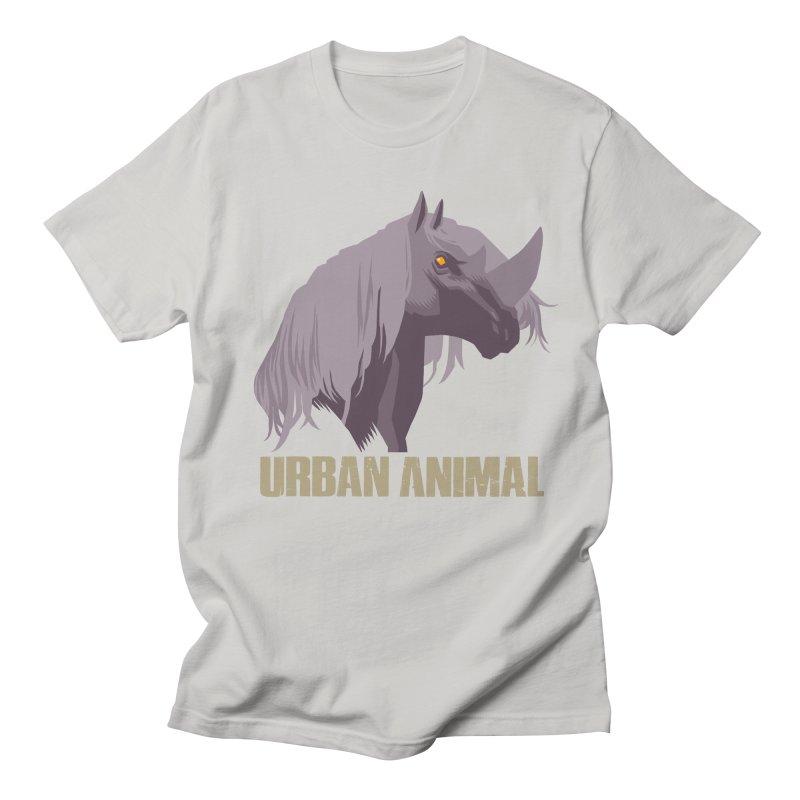 Rhinocorn Men's T-Shirt by Urban Animal Store