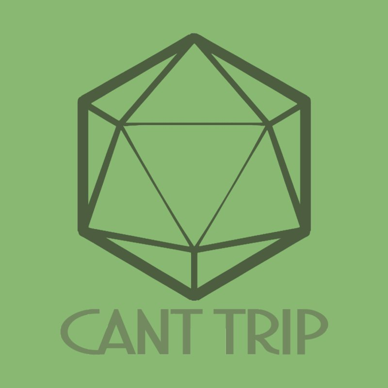 Can't Trip Men's V-Neck by Urban Animal Store