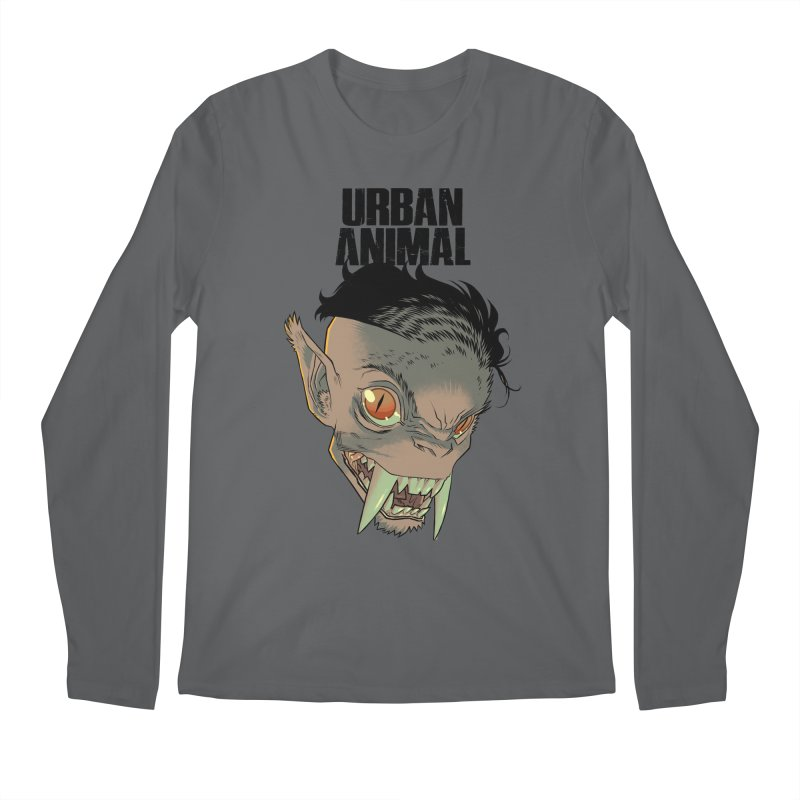 Joe Tusks Men's Longsleeve T-Shirt by Urban Animal Store