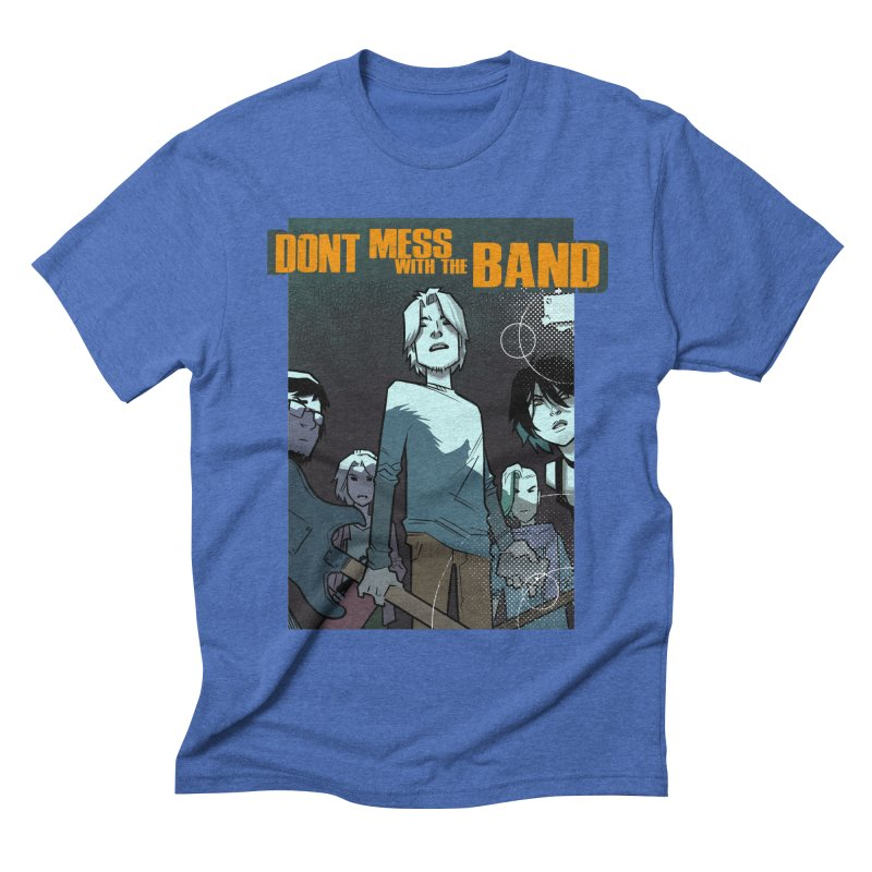 Don't Mess with the Band Men's T-Shirt by Urban Animal Store