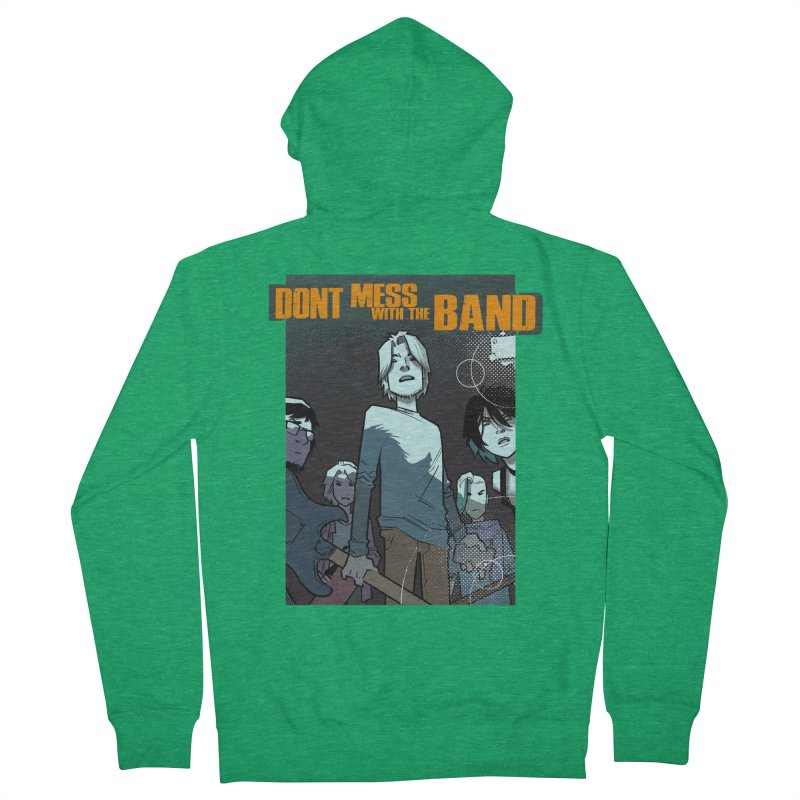 Don't Mess with the Band Men's Zip-Up Hoody by Urban Animal Store