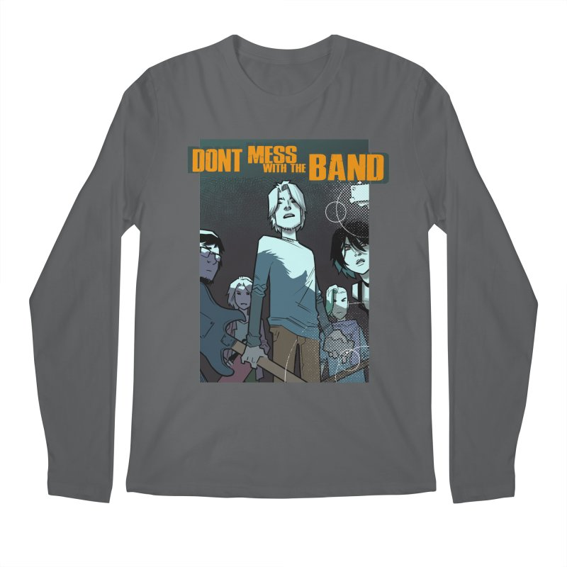 Don't Mess with the Band Men's Longsleeve T-Shirt by Urban Animal Store