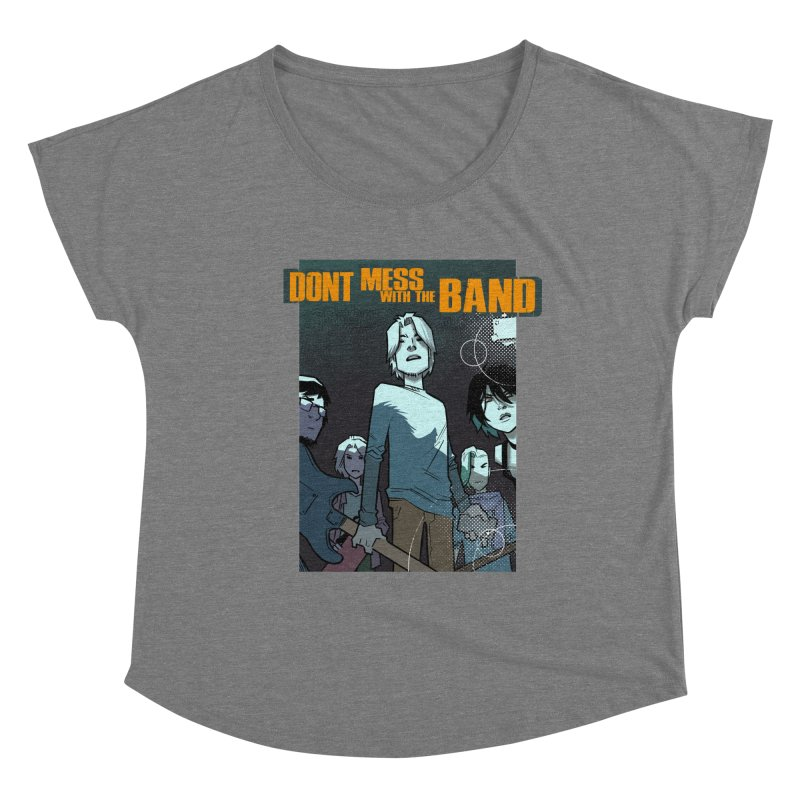 Don't Mess with the Band Women's Scoop Neck by Urban Animal Store