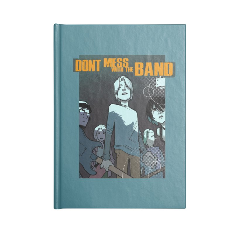 Don't Mess with the Band Accessories Notebook by Urban Animal Store