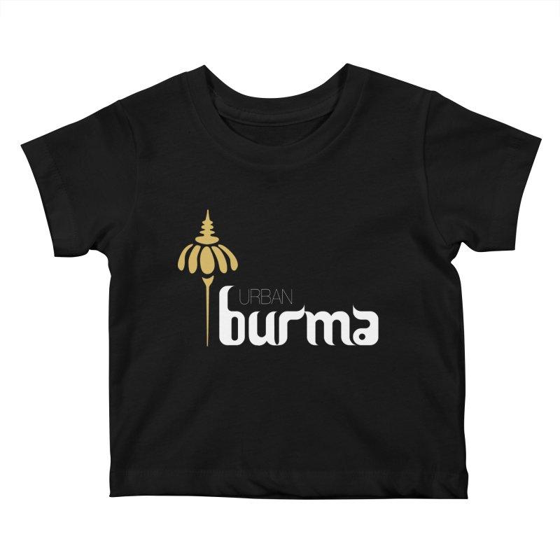 URBAN BURMA Kids Baby T-Shirt by urbanburma's Artist Shop