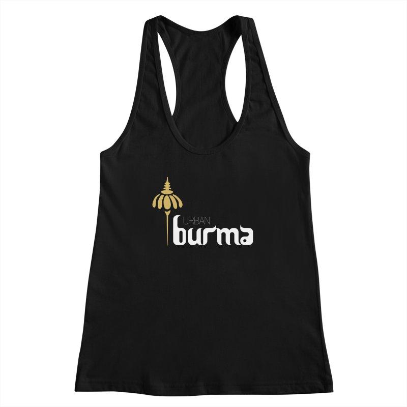 URBAN BURMA Women's Tank by urbanburma's Artist Shop