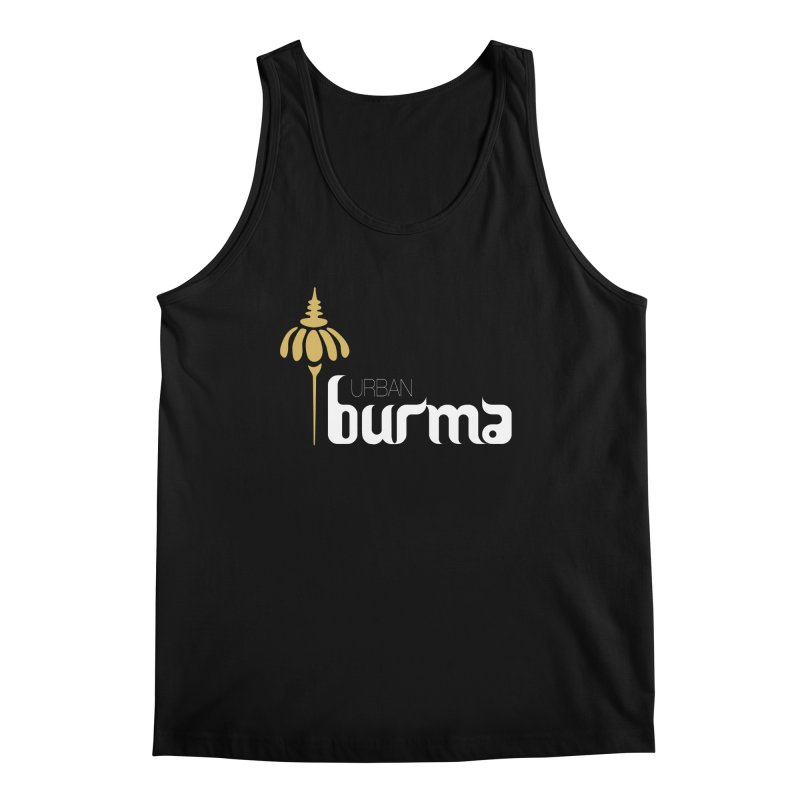 URBAN BURMA Men's Tank by urbanburma's Artist Shop