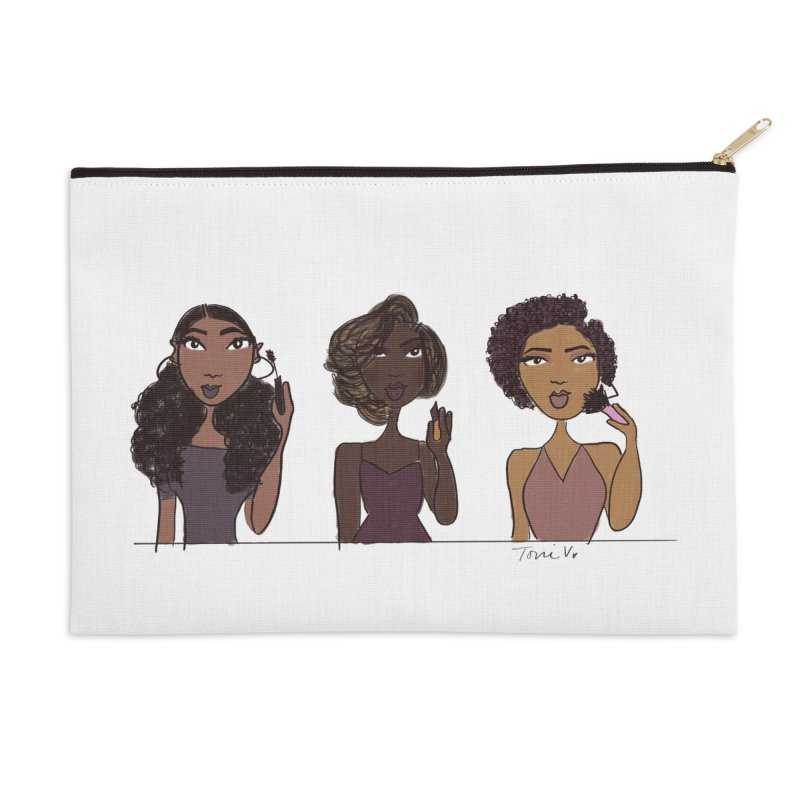 GRWM Makeup Bag Accessories Zip Pouch by Urban Luxe Paperie