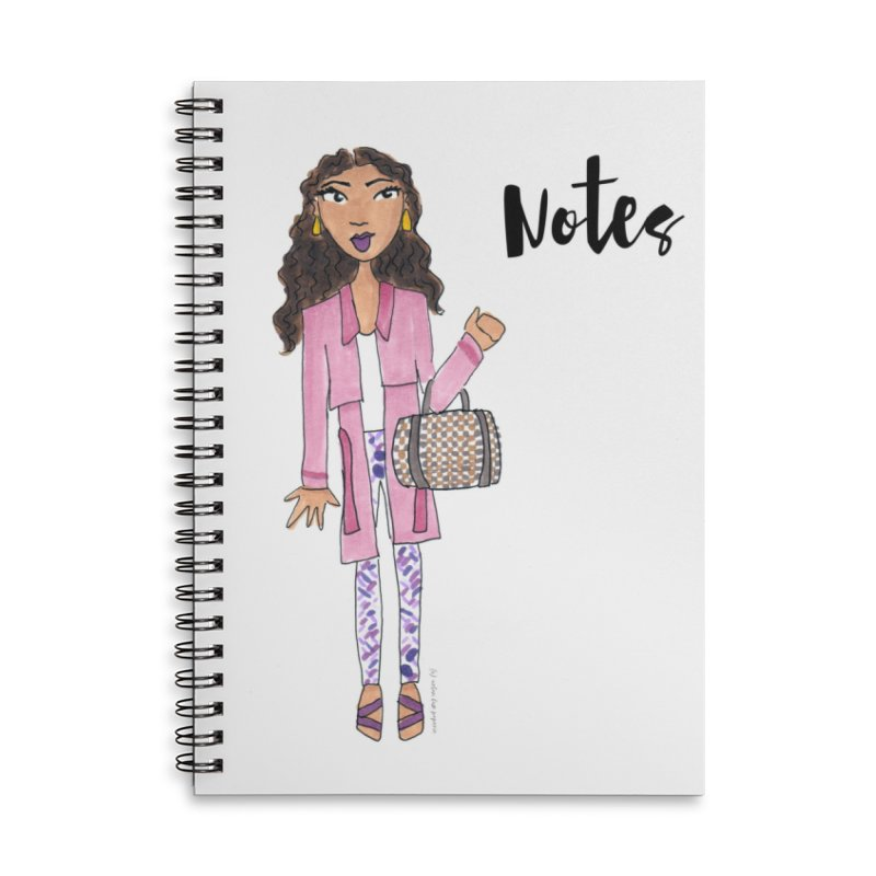 The Sasha Notebook Accessories Notebook by Urban Luxe Paperie