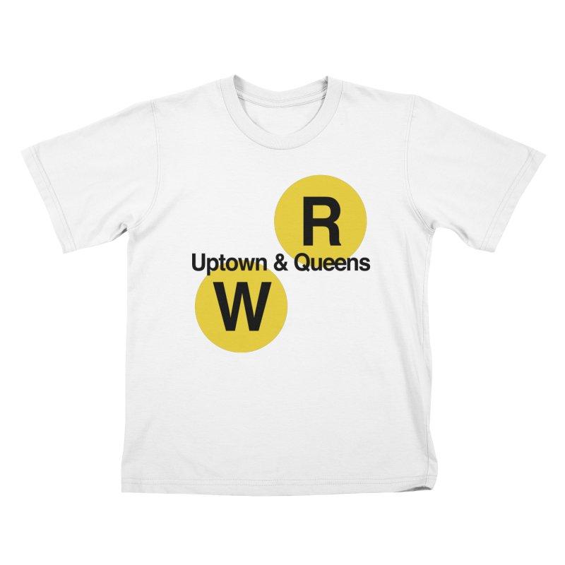 Uptown   Queens NYC Subway Shirt Kids T-Shirt by Urban Original Supply Co 0dc1fdb139f