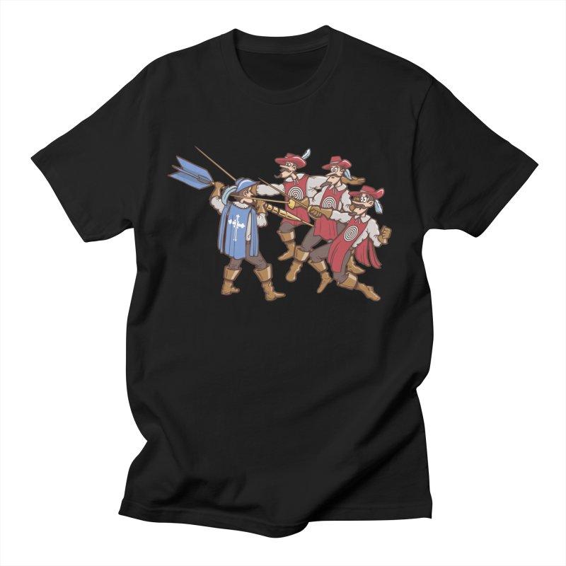 DartAgnan Men's T-Shirt by Urban Prey's Artist Shop