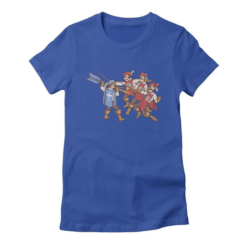 DartAgnan Women's T-Shirt by Urban Prey's Artist Shop