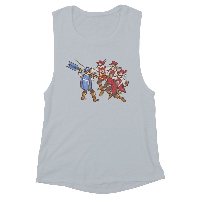 DartAgnan Women's Tank by Urban Prey's Artist Shop