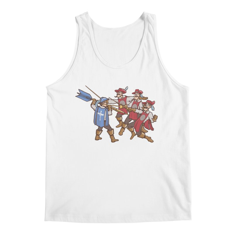 DartAgnan Men's Tank by Urban Prey's Artist Shop