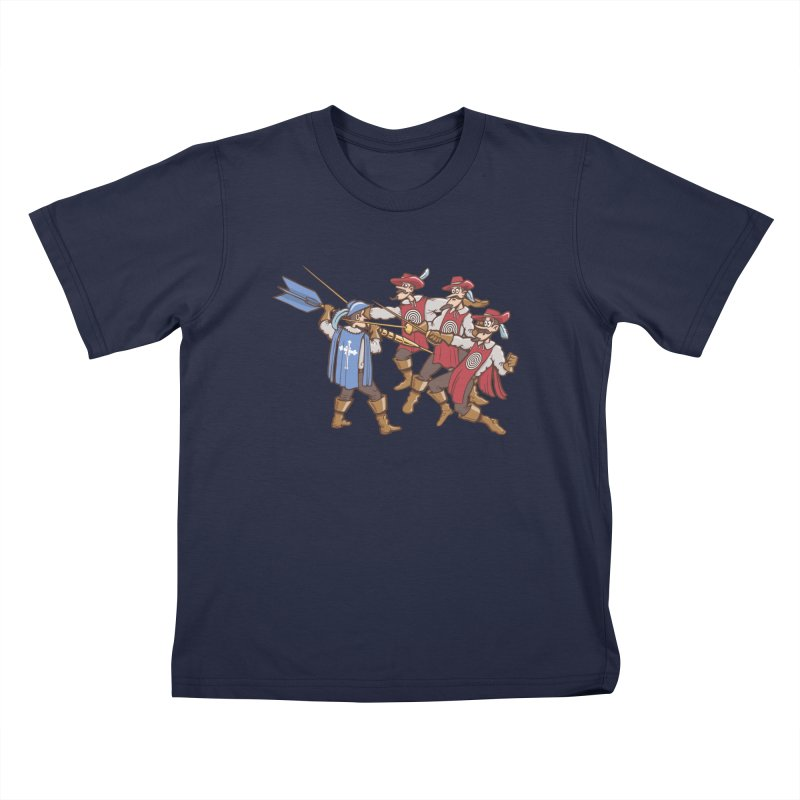 DartAgnan Kids T-Shirt by Urban Prey's Artist Shop