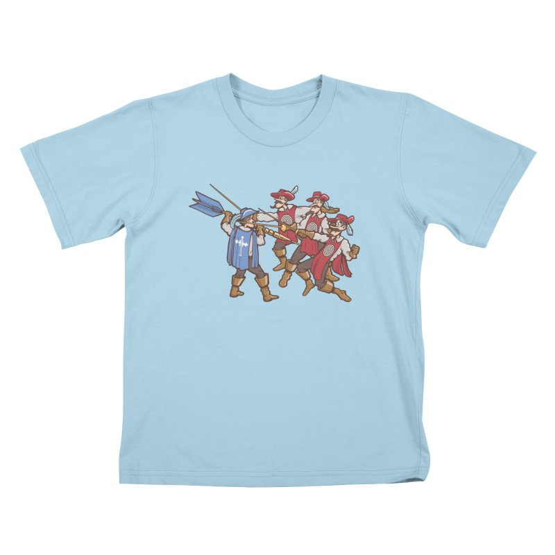 DartAgnan Kids T-Shirt by Urban Prey's Artist Shop