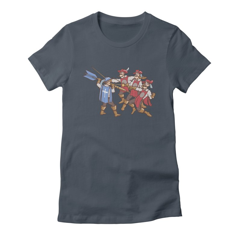 DartAgnan Women's T-Shirt by Urban Prey's Artist Shop