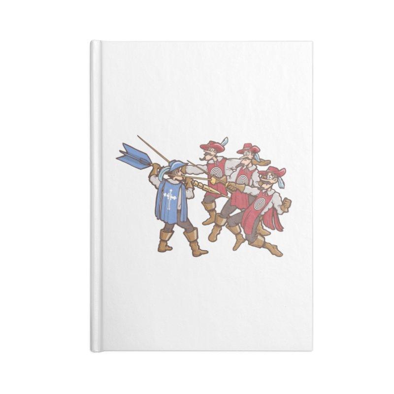 DartAgnan Accessories Notebook by Urban Prey's Artist Shop