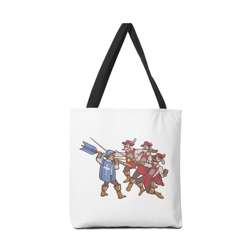DartAgnan Accessories Bag by Urban Prey's Artist Shop