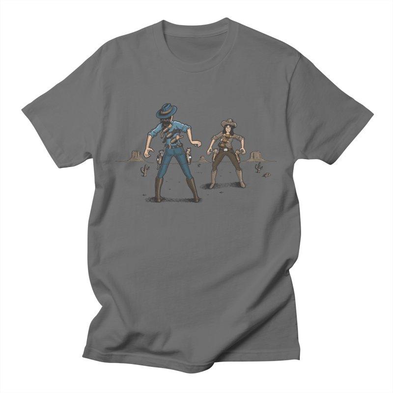 Catfight Men's T-Shirt by Urban Prey's Artist Shop