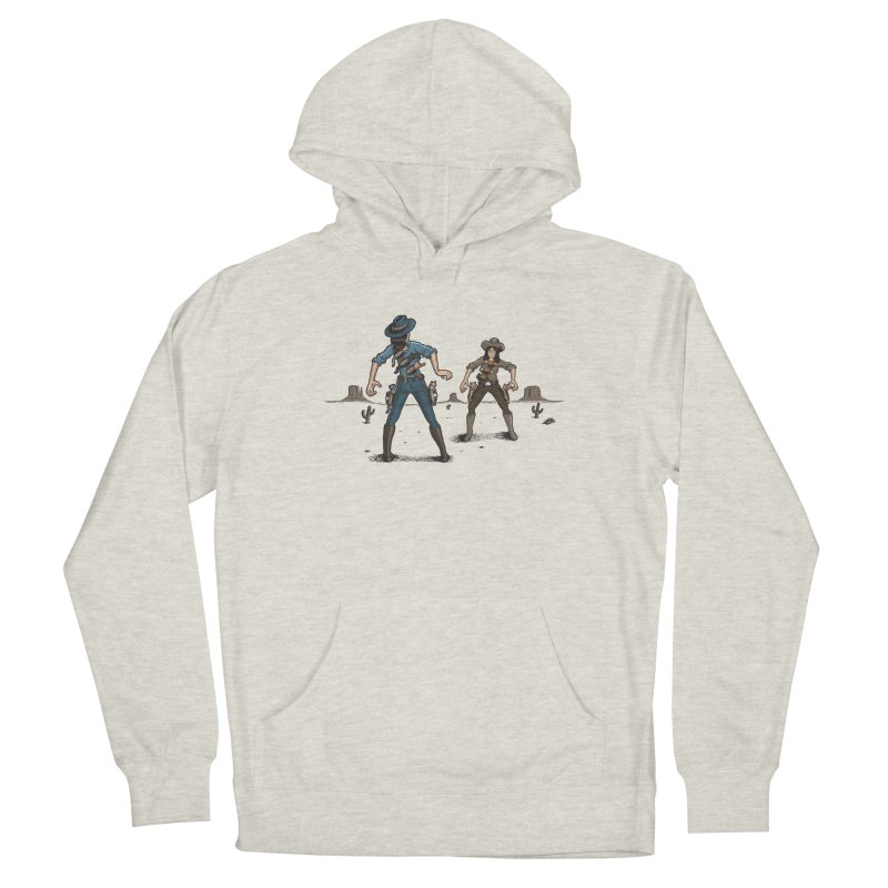 Catfight Men's Pullover Hoody by Urban Prey's Artist Shop