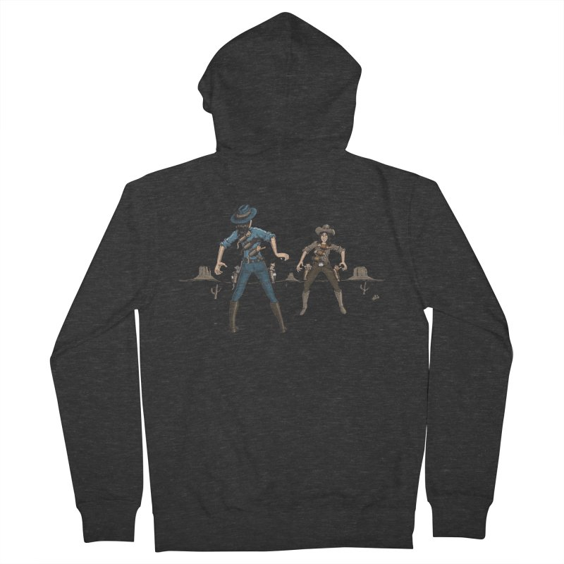Catfight Men's French Terry Zip-Up Hoody by Urban Prey's Artist Shop