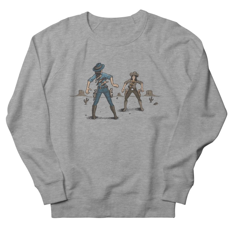 Catfight Women's Sweatshirt by Urban Prey's Artist Shop