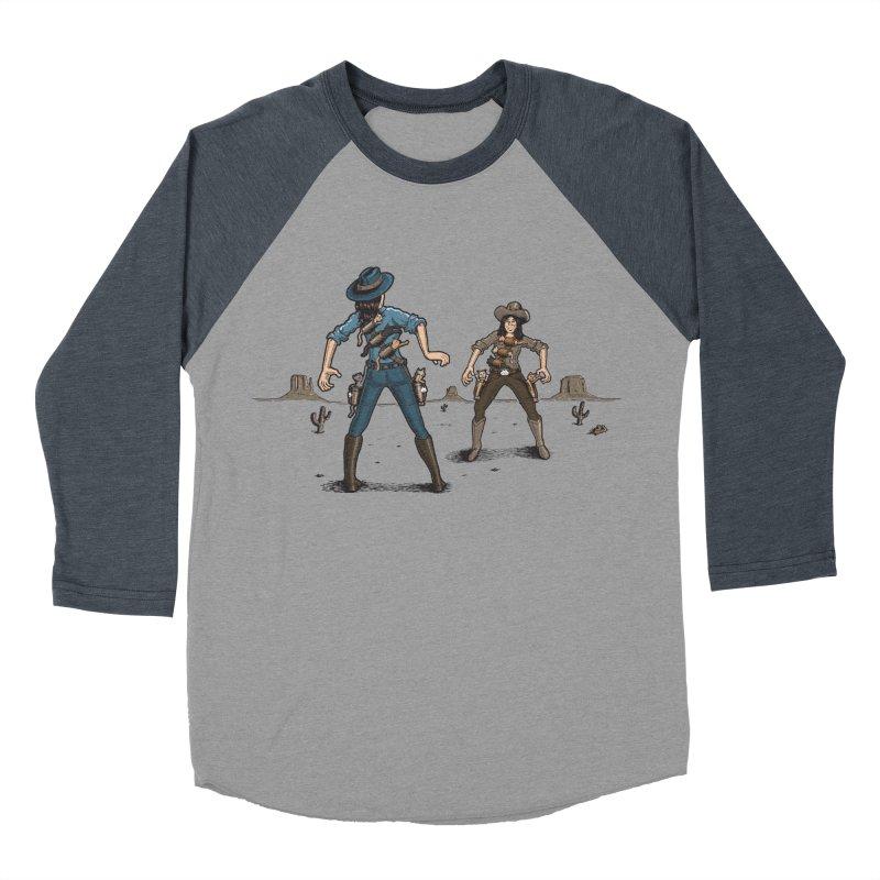 Catfight Women's Baseball Triblend Longsleeve T-Shirt by Urban Prey's Artist Shop