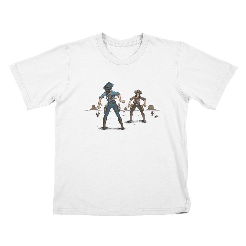 Catfight Kids Toddler T-Shirt by Urban Prey's Artist Shop