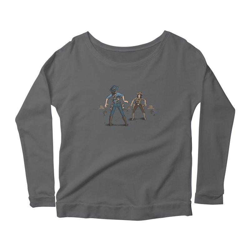 Catfight Women's Longsleeve T-Shirt by Urban Prey's Artist Shop