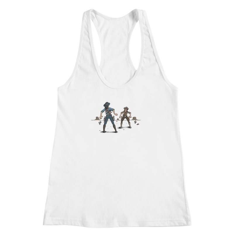 Catfight Women's Racerback Tank by Urban Prey's Artist Shop