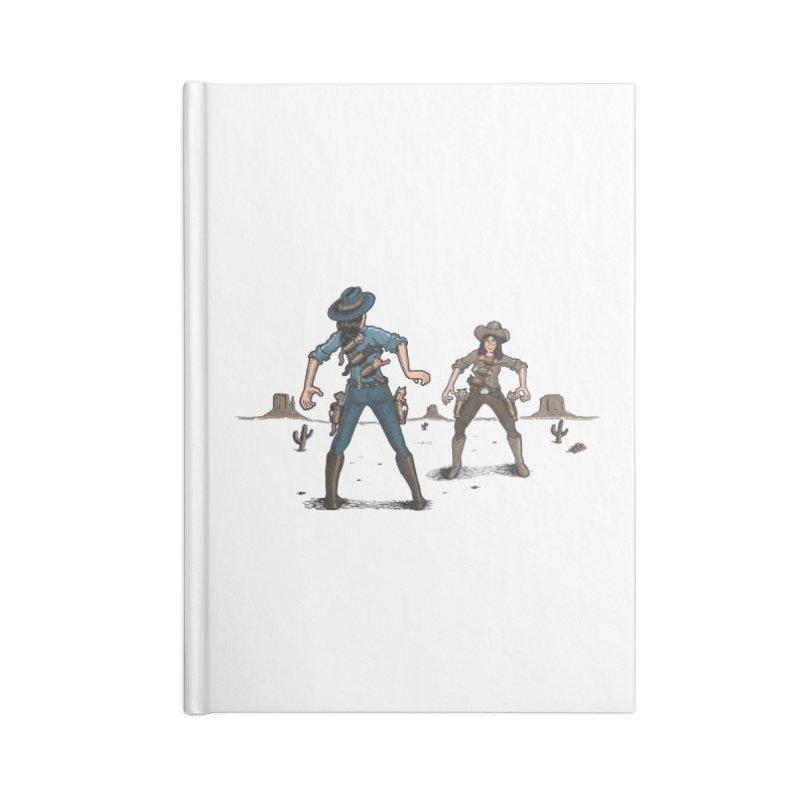 Catfight Accessories Notebook by Urban Prey's Artist Shop
