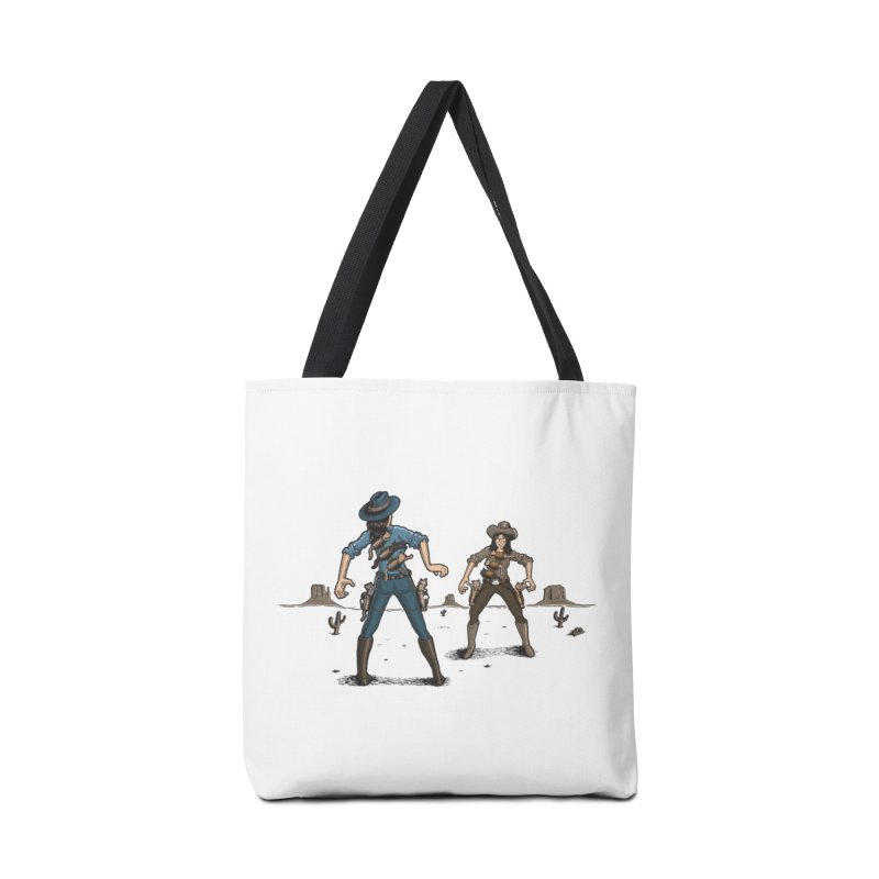 Catfight Accessories Bag by Urban Prey's Artist Shop