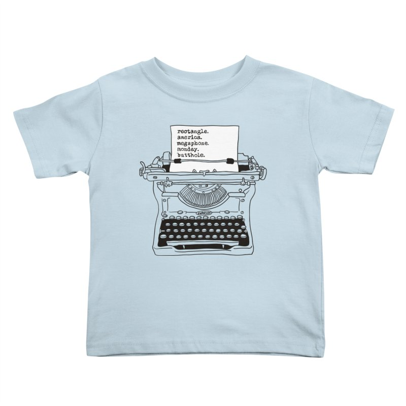Typewriter   by Urban Prey's Artist Shop
