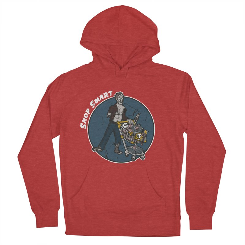 Shop Smart Women's French Terry Pullover Hoody by Urban Prey's Artist Shop
