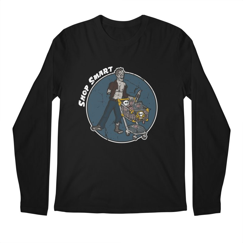 Shop Smart Men's Regular Longsleeve T-Shirt by Urban Prey's Artist Shop