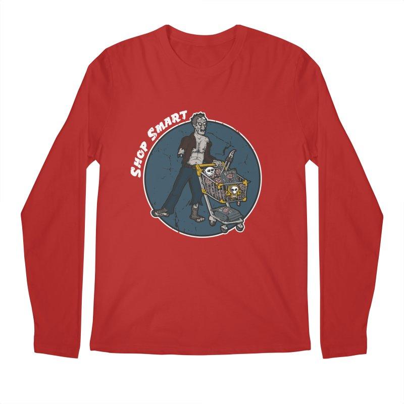 Shop Smart Men's Longsleeve T-Shirt by Urban Prey's Artist Shop