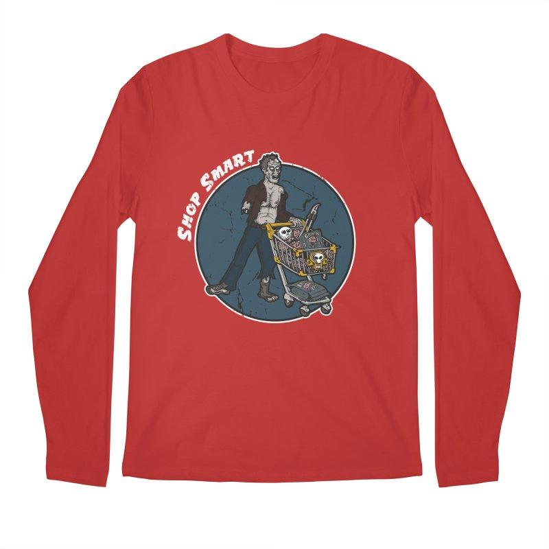Shop Smart Men's Regular Longsleeve T-Shirt by Urban Prey's Artist Shop