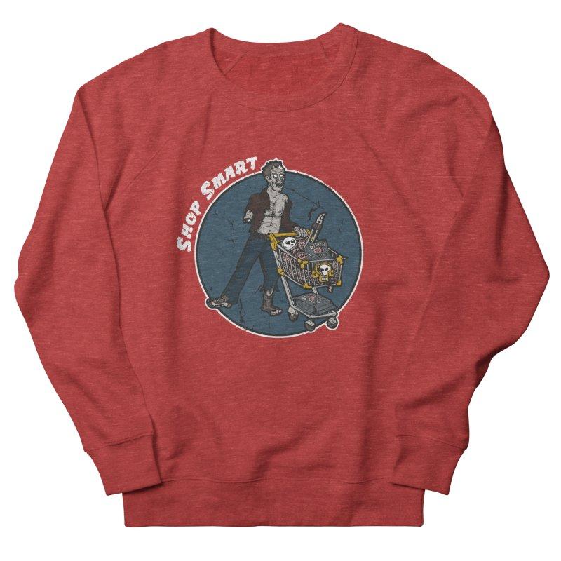Shop Smart Men's French Terry Sweatshirt by Urban Prey's Artist Shop