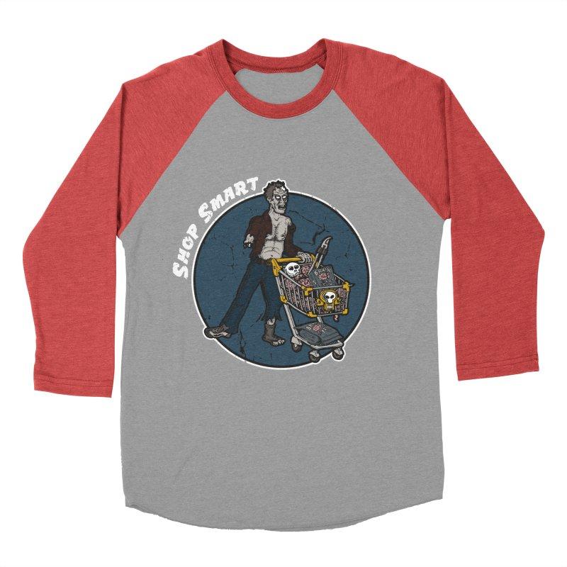 Shop Smart Women's Baseball Triblend Longsleeve T-Shirt by Urban Prey's Artist Shop