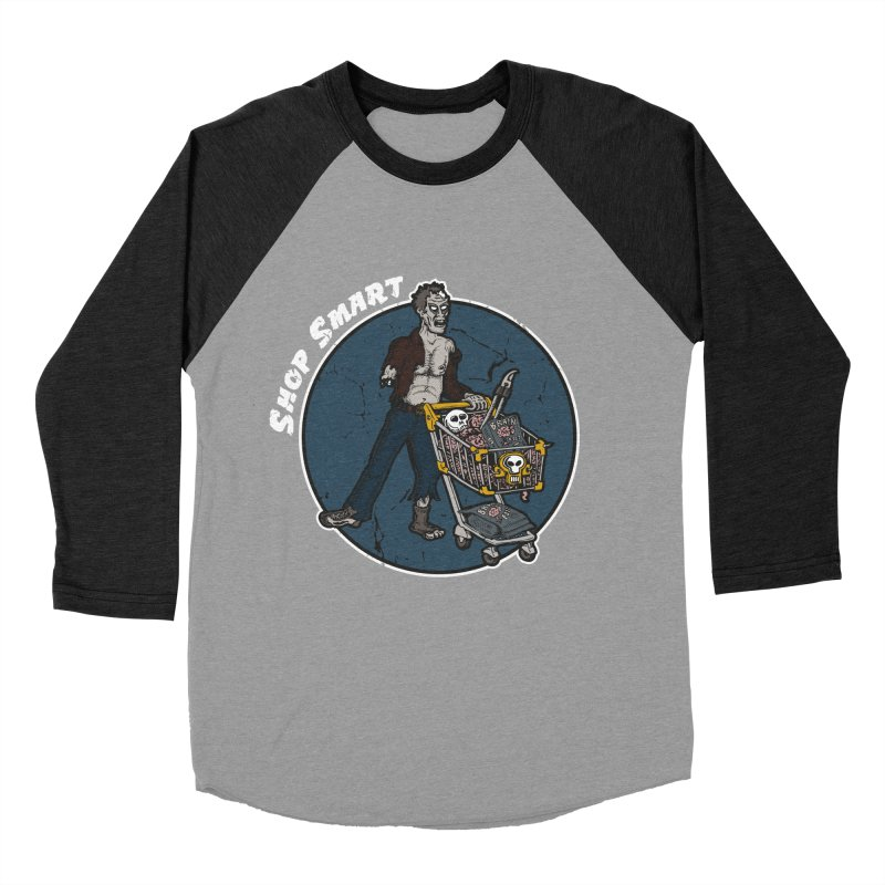 Shop Smart Men's Baseball Triblend Longsleeve T-Shirt by Urban Prey's Artist Shop