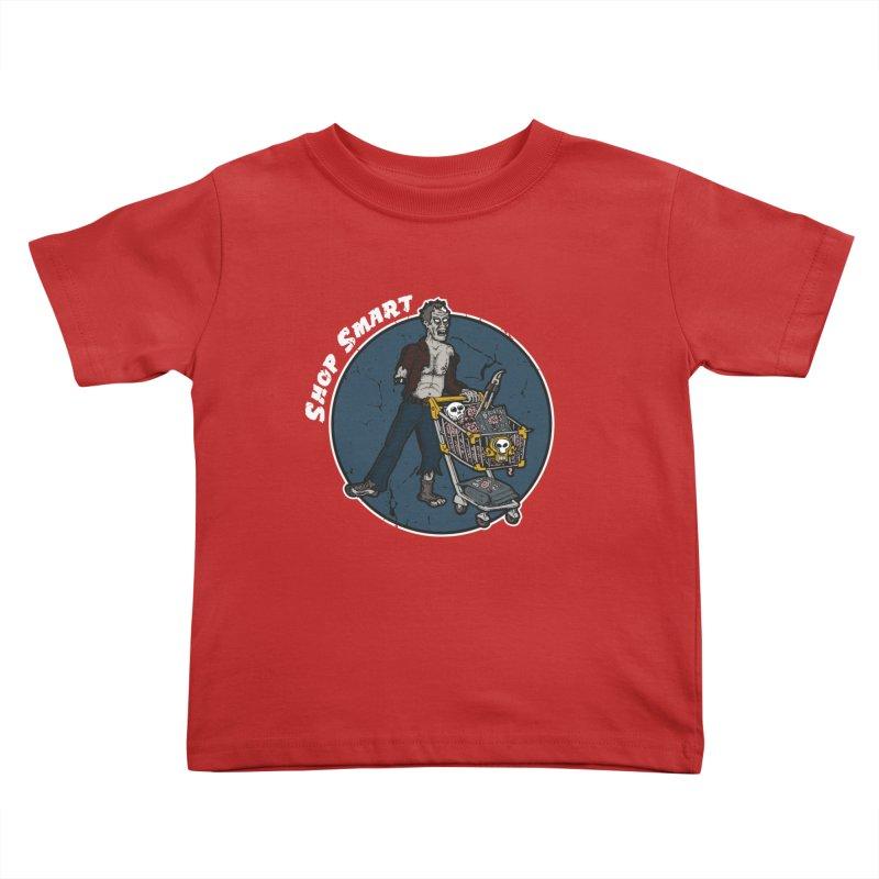 Shop Smart Kids Toddler T-Shirt by Urban Prey's Artist Shop