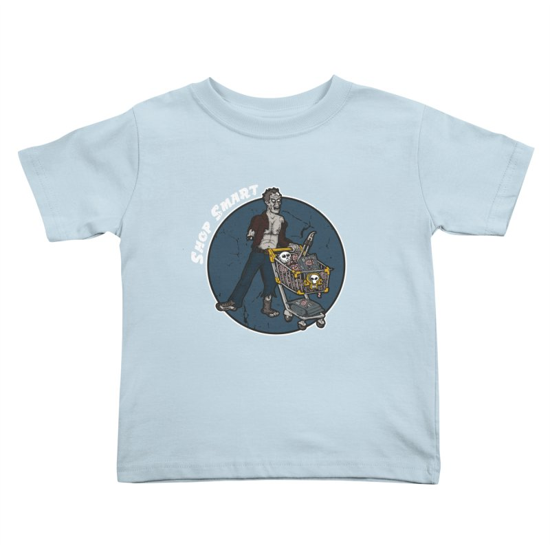 Shop Smart Kids Toddler T-Shirt by Urban Prey's Artist Shop