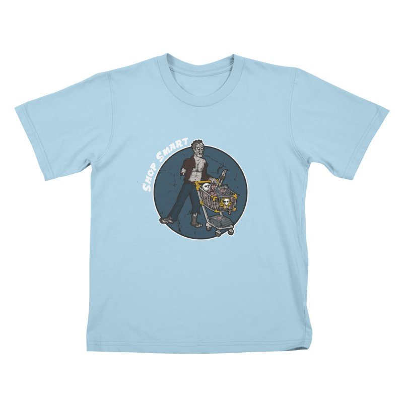 Shop Smart Kids T-shirt by Urban Prey's Artist Shop